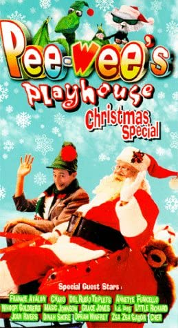 Pee-Wee's Playhouse: Christmas Special (1996 VHS)