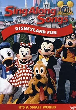 Disney's Sing-Along Songs: Disneyland Fun (2005 DVD)