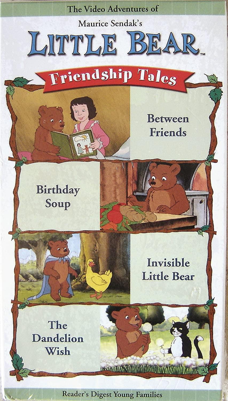 Little Bear: Friendship Tales (2002 VHS)