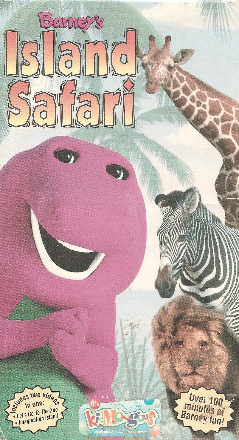 Barney: Barney's Island Safari (2001 VHS)