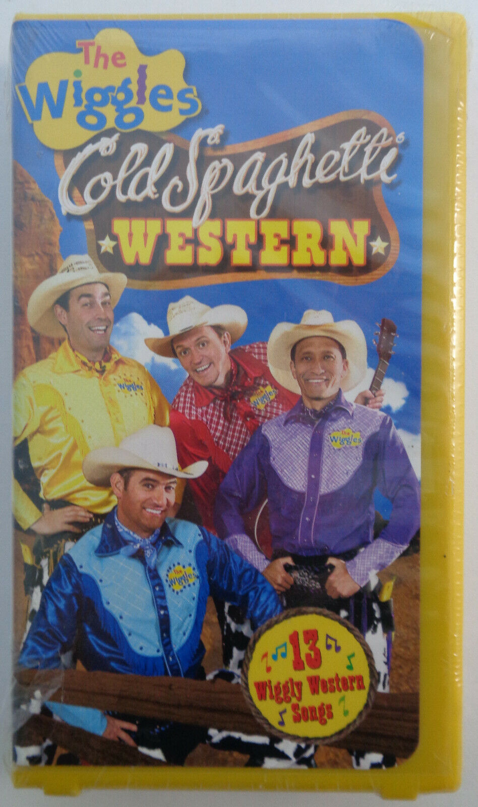 The Wiggles: Cold Spaghetti Western (2004 VHS)