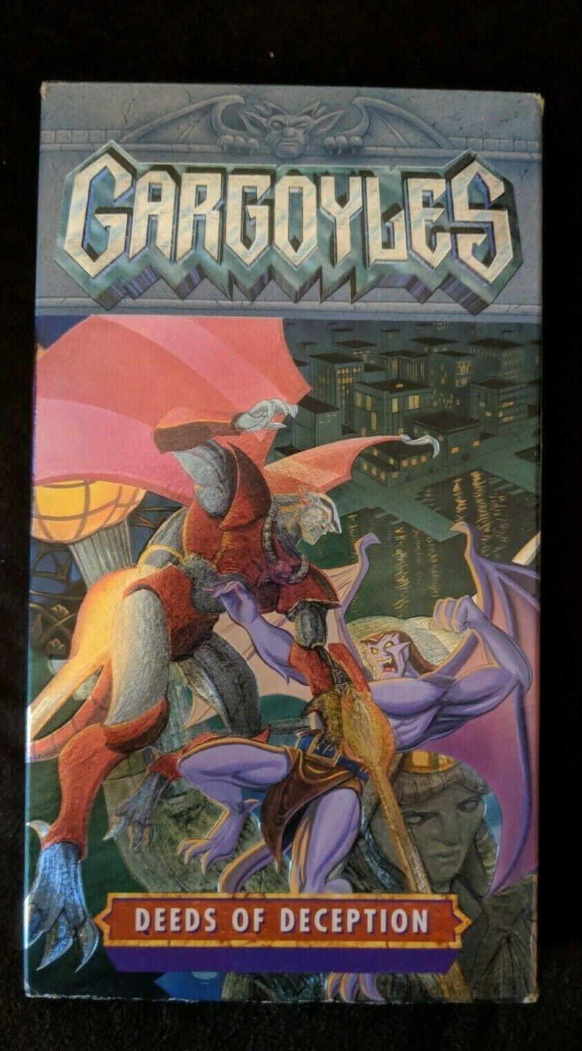 Gargoyles: Deeds of Deception (1996 VHS)