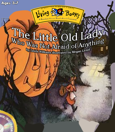 The Little Old Lady Who Was Not Afraid of Anything (1996 PC Game)