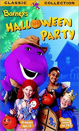 Barney's Halloween Party (1998-1999 VHS)