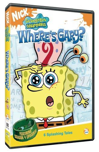 SpongeBob SquarePants: Where's Gary? (2005 DVD)