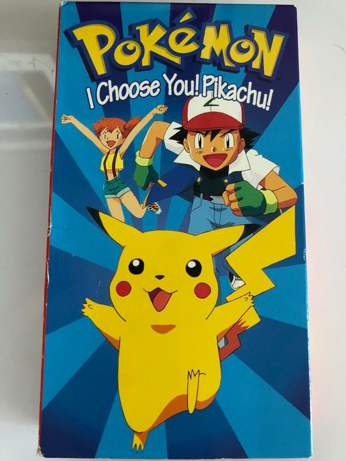 Pokemon I Choose You Pikachu! (1998 VHS)