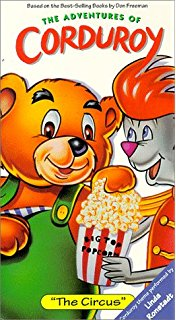 The Adventures of Corduroy: The Circus (1996 VHS)