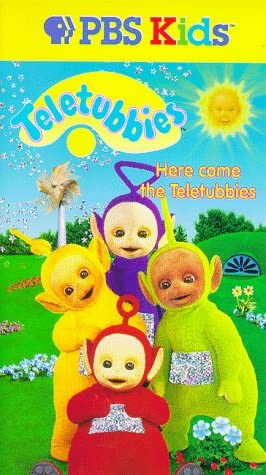 Teletubbies: Here Come the Teletubbies (1998 VHS)
