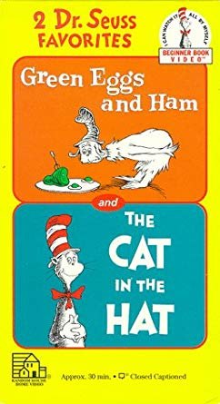 Green Eggs and Ham and The Cat in the Hat (1994 VHS)