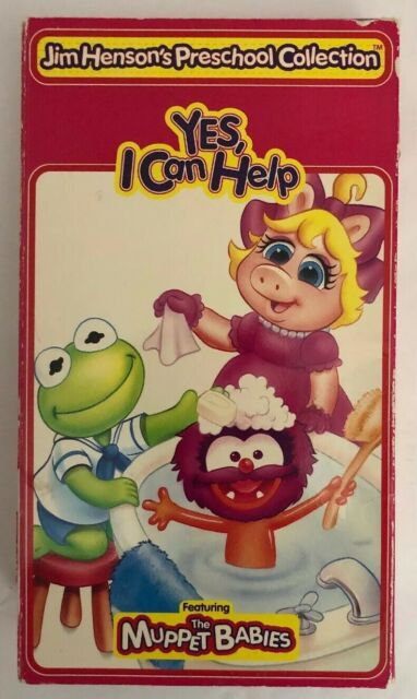 Muppet Babies: Yes, I Can Help (1995 VHS)