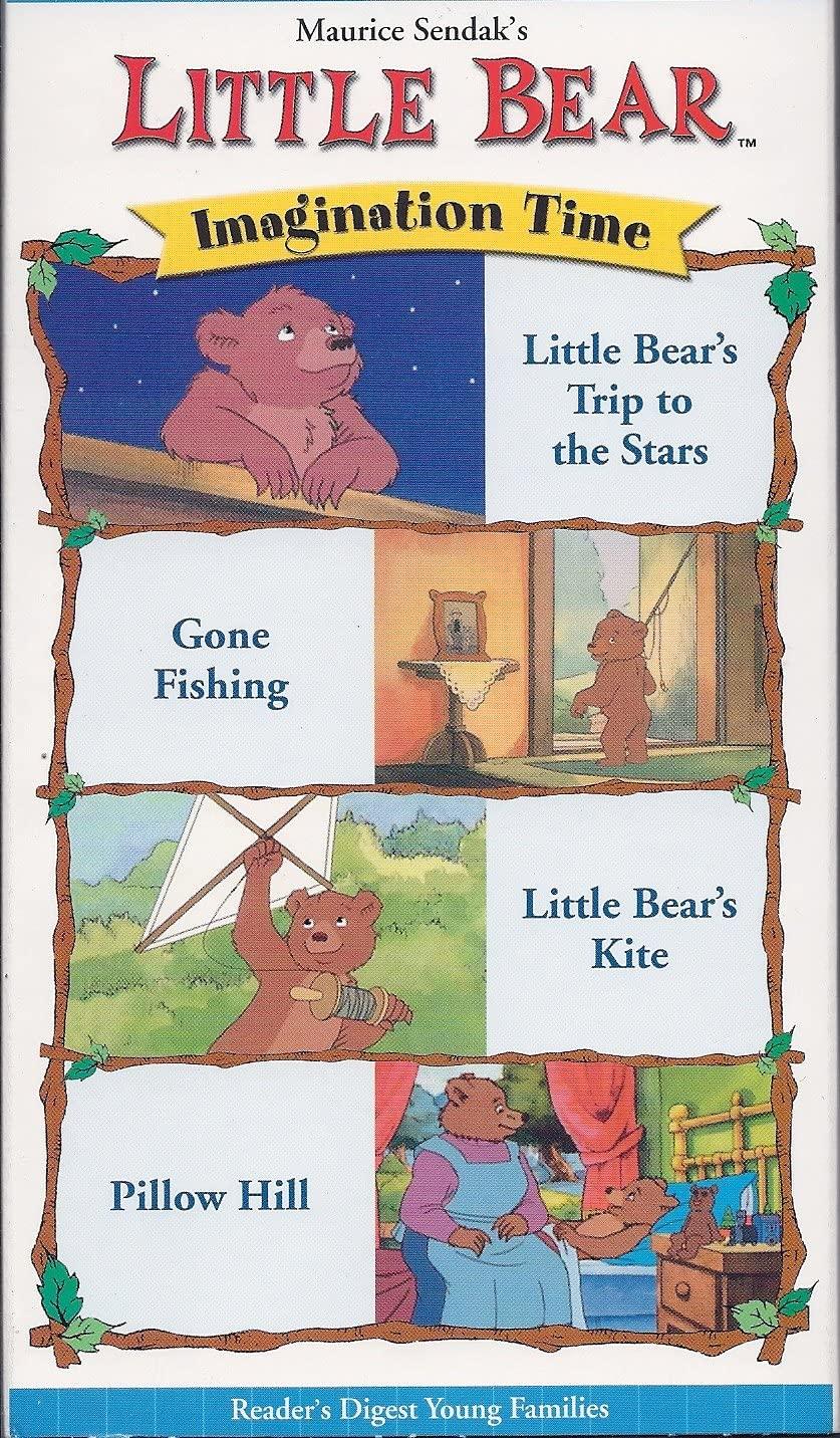 Little Bear: Imagination Time (2002 VHS)