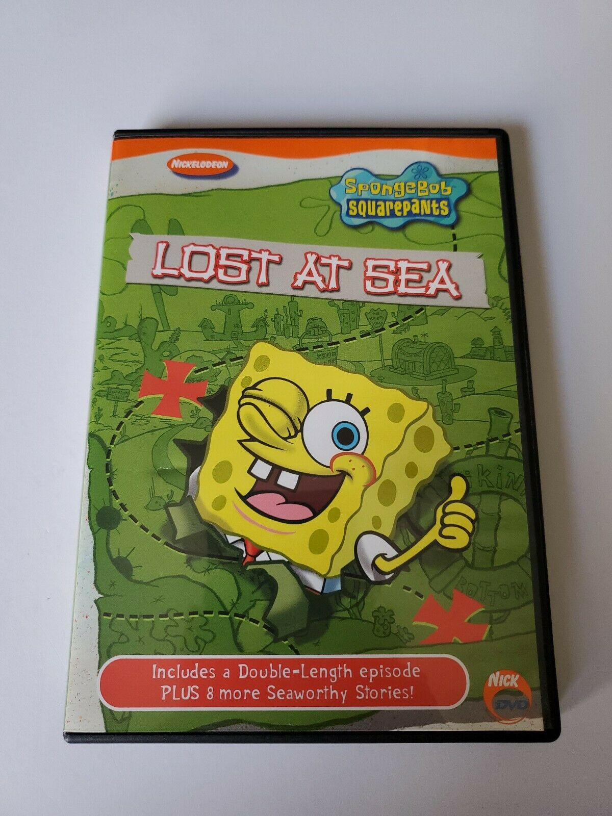 SpongeBob SquarePants: Lost at Sea (2003 DVD)