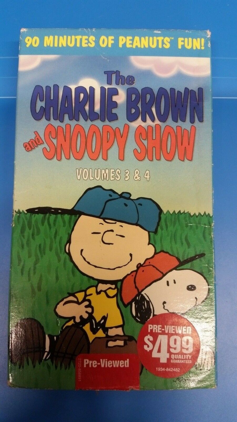 The Charlie Brown and Snoopy Show: Volumes 3 & 4 (1997 VHS)