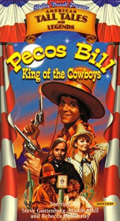 Shelley Duvall's Amercian Tall Tales & Legends: Pecos Bill King of the Cowboys (1998 VHS)