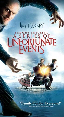 Lemony Snicket's A Series of Unfortunate Events (2005 VHS)