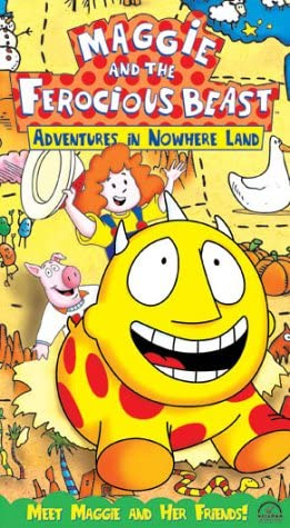 Maggie and the Ferocious Beast: Adventures in Nowhere Land (2002 VHS)