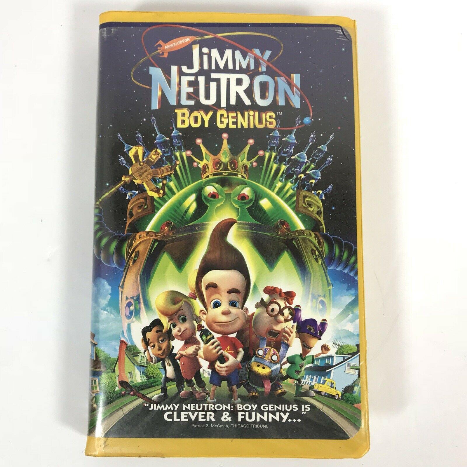 Jimmy Neutron: Boy Genius (2002 VHS)