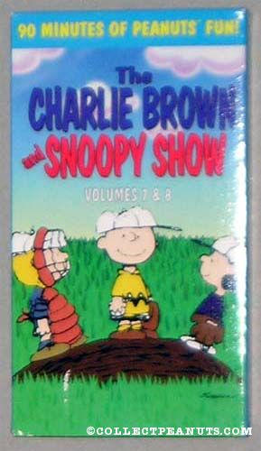 The Charlie Brown and Snoopy Show: Volumes 7 & 8 (1997 VHS)