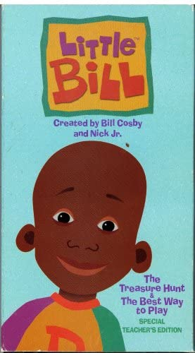 Little Bill: The Treasure Hunt & The Best Way to Play (Special Teacher's Edition) (1999 VHS)