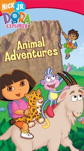 Dora the Explorer: Animal Adventures (2006 VHS)