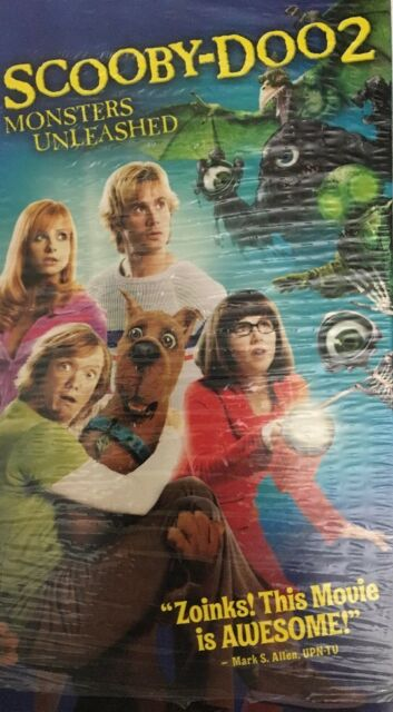 Scooby-Doo 2: Monsters Unleashed (2004 VHS)