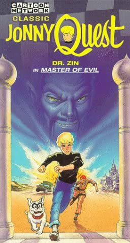 Classic Jonny Quest: Dr. Zin in Master of Evil (1996 VHS)