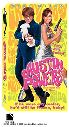 Austin Powers: International Man of Mystery (1997 VHS)
