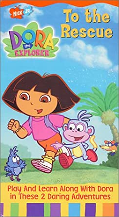 Dora the Explorer: To the Rescue (2001 VHS)