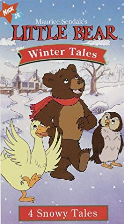 Little Bear; Winter Tales (1997 VHS)