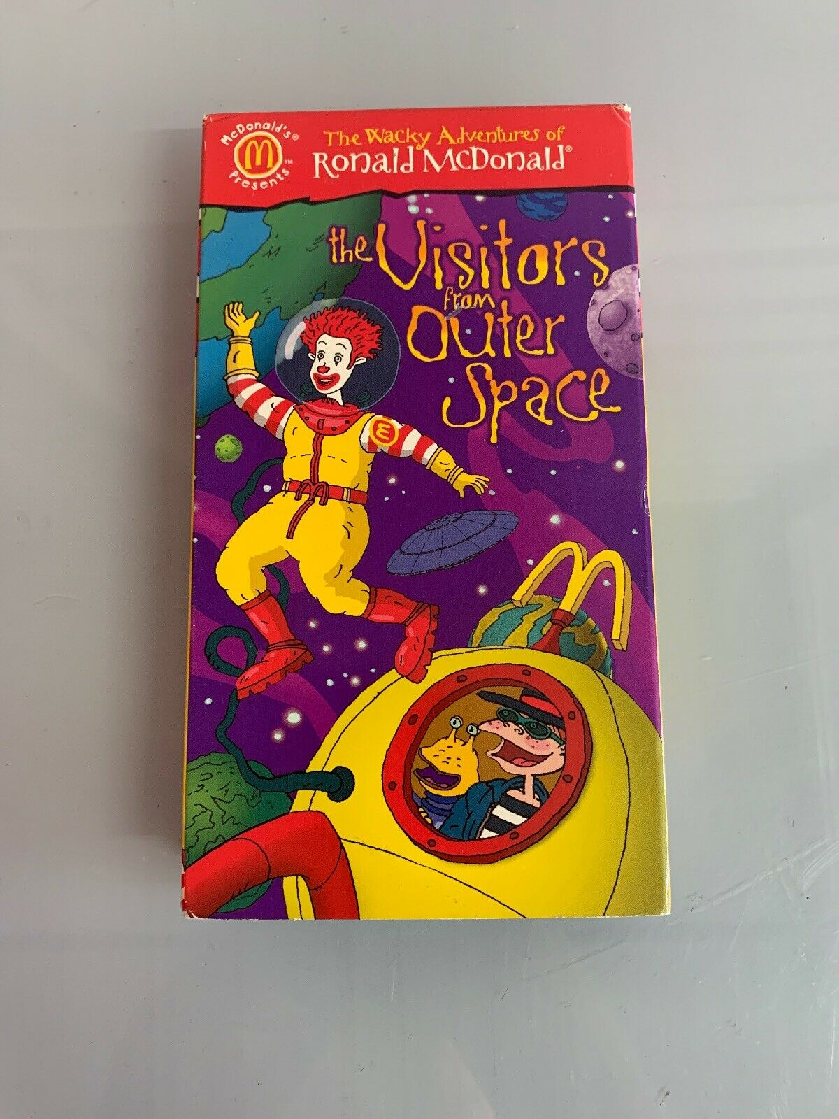 The Wacky Adventures of Ronald McDonald: The Visitors From Outer Space (1999 VHS)
