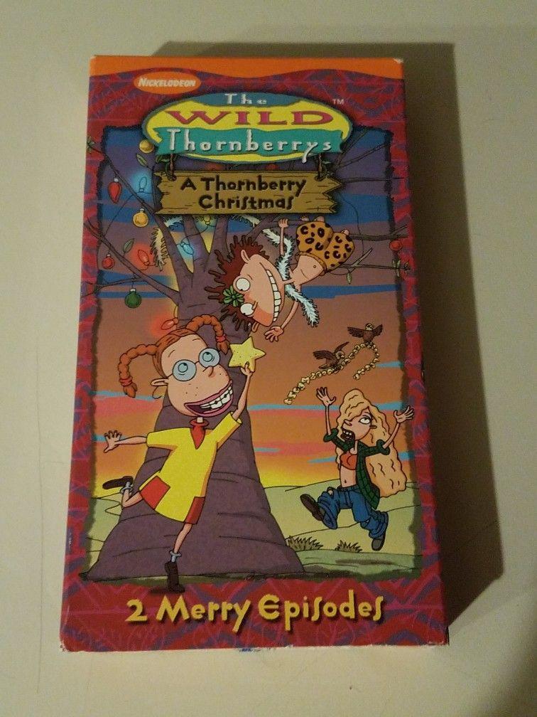 The Wild Thornberrys: A Thornberry Christmas (2000 VHS)
