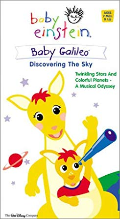 Baby Einstein: Baby Galileo Discovering the Sky (2003-2004 VHS)