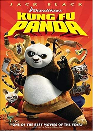 Kung Fu Panda (2008 DVD)