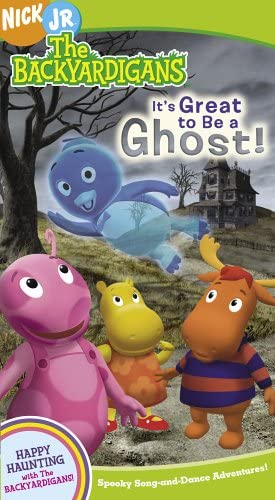 The Backyardigans: It's Great to Be a Ghost! (2005 VHS)