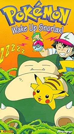 Pokemon Wake Up Snorlax! (2000 VHS)