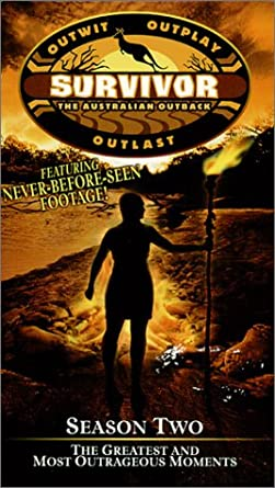 Survivor Season Two: The Australian Outback: The Greatest & Most Outrageous Moments (2001 VHS)