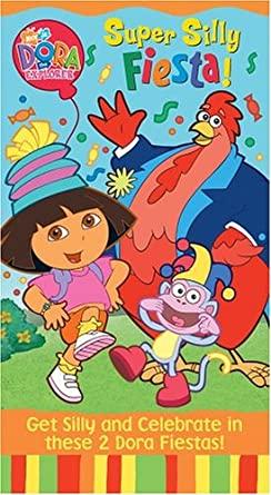 Dora the Explorer: Super Silly Fiesta! (2004 VHS)