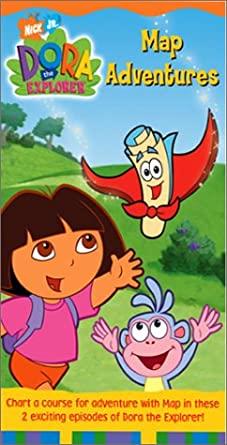 Dora the Explorer: Map Adventures (2003 VHS)