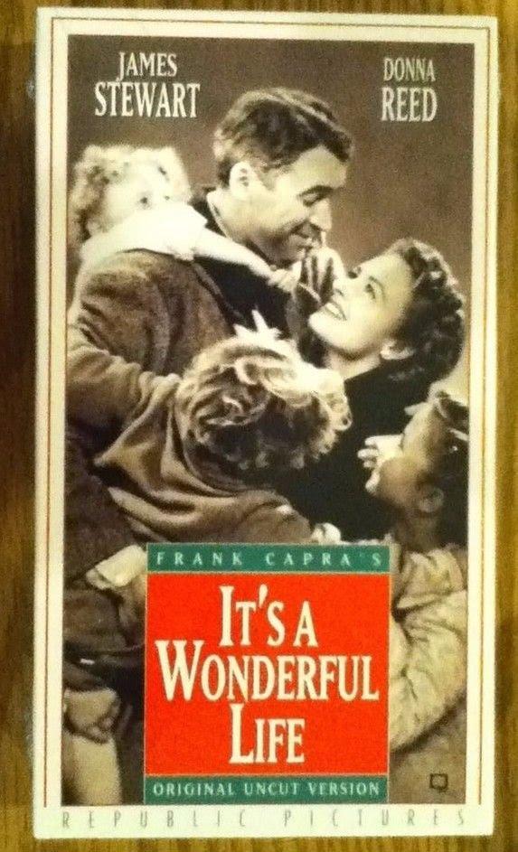 It's A Wonderful Life (1999-2002 VHS)