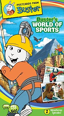 Postcards From Buster: Buster's World of Sports (2006 VHS)
