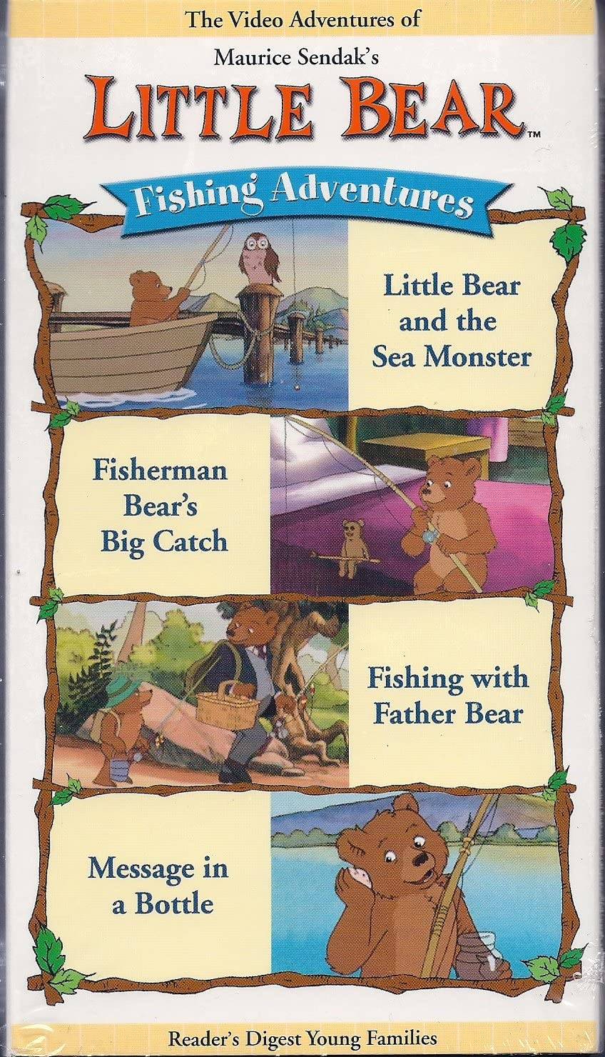 Little Bear: Fishing Adventures (2002 VHS)
