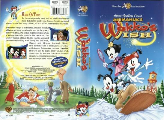 Animaniacs: Wakko's Wish (1999 VHS)