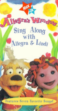 Allegra's Window: Sing Along With Allegra and Lindi (1998 VHS)