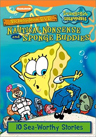 SpongeBob SquarePants: Nautical Nonsense and Sponge Buddies (2002 DVD)