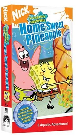 SpongeBob SquarePants: Home Sweet Pineapple (2005 VHS)