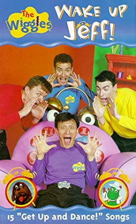 The Wiggles: Wake Up Jeff (2000 VHS)