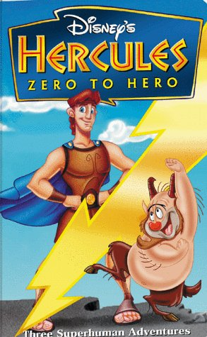 Hercules Zero To Hero (1999 VHS)