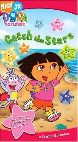 Dora the Explorer: Catch the Stars (2005 VHS)