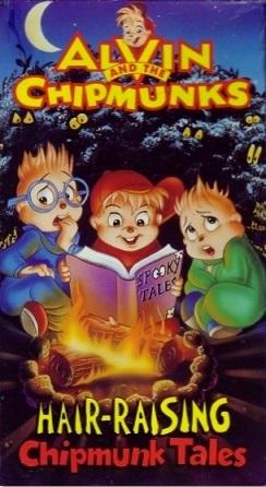 Alvin and the Chipmunks: Hair-Raising Chipmunk Tales (1993 VHS)