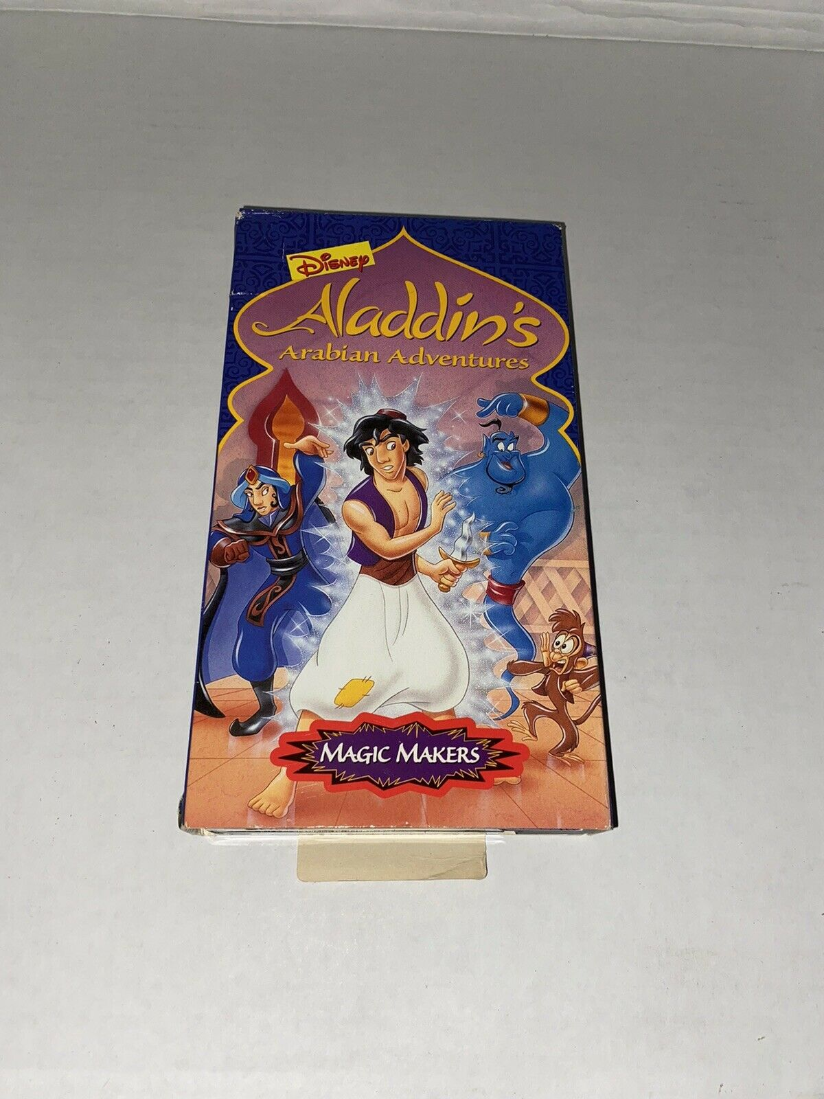 Aladdin's Arabian Adventures: Magic Makers (1995 VHS)